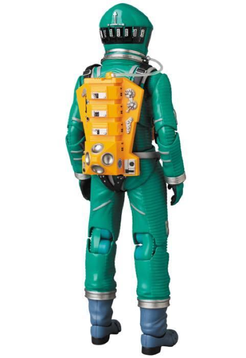 2001年宇宙の旅 アクションフィギュア MAFEX SPACE SUIT(GREEN Ver.)宇宙飛行士 アストロノーツ スタンリーキューブリック_画像7