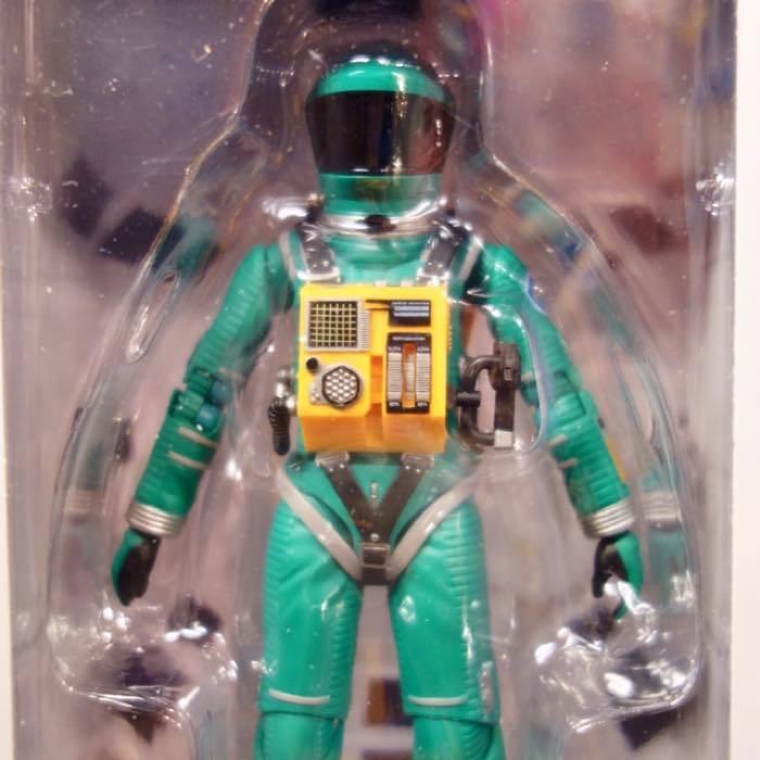 2001年宇宙の旅 アクションフィギュア MAFEX SPACE SUIT(GREEN Ver.)宇宙飛行士 アストロノーツ スタンリーキューブリック_画像2
