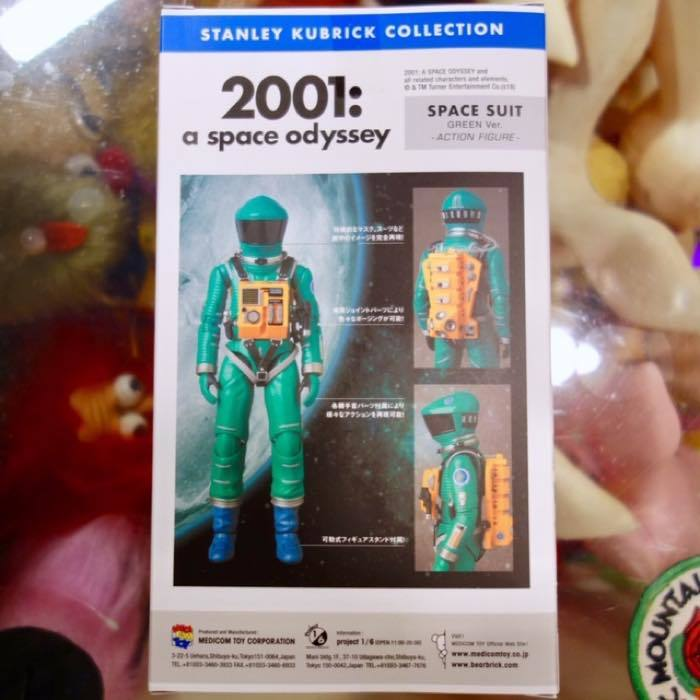 2001年宇宙の旅 アクションフィギュア MAFEX SPACE SUIT(GREEN Ver.)宇宙飛行士 アストロノーツ スタンリーキューブリック_画像4