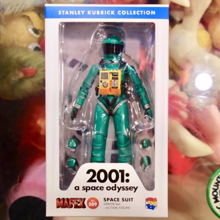 2001年宇宙の旅 アクションフィギュア MAFEX SPACE SUIT(GREEN Ver.)宇宙飛行士 アストロノーツ スタンリーキューブリック_画像1