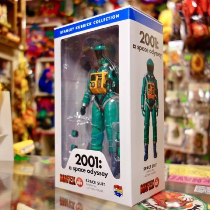 2001年宇宙の旅 アクションフィギュア MAFEX SPACE SUIT(GREEN Ver.)宇宙飛行士 アストロノーツ スタンリーキューブリック_画像3