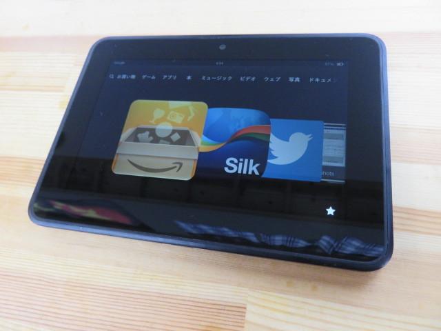 中古 動作確認済み 初期化済み アマゾン Amazon Kindle Fire HD 第2世代 32GB X43Z60 キンドル タブレット 電子書籍 32GB_画像2