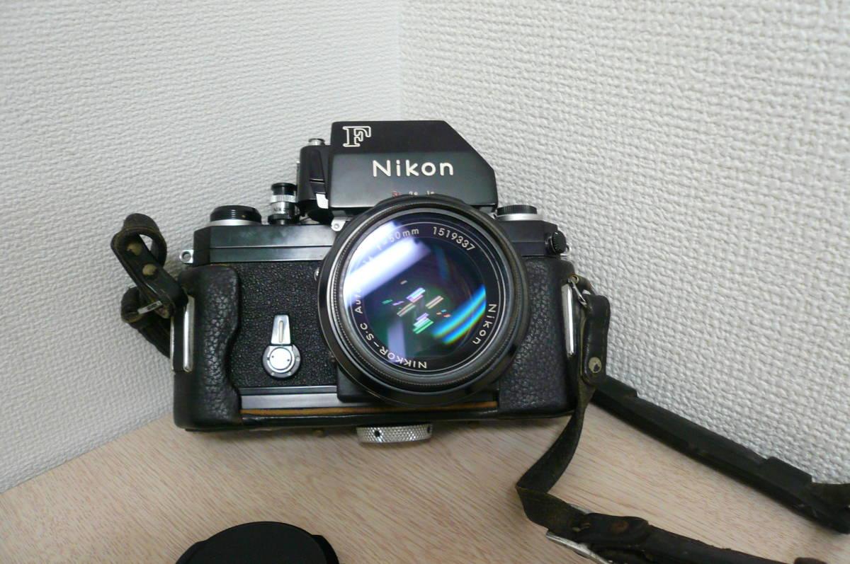 Nikon F ニコン F フォトミックファインダー Ftn カメラ 1:1.4 f=50mm レンズ付き 中古