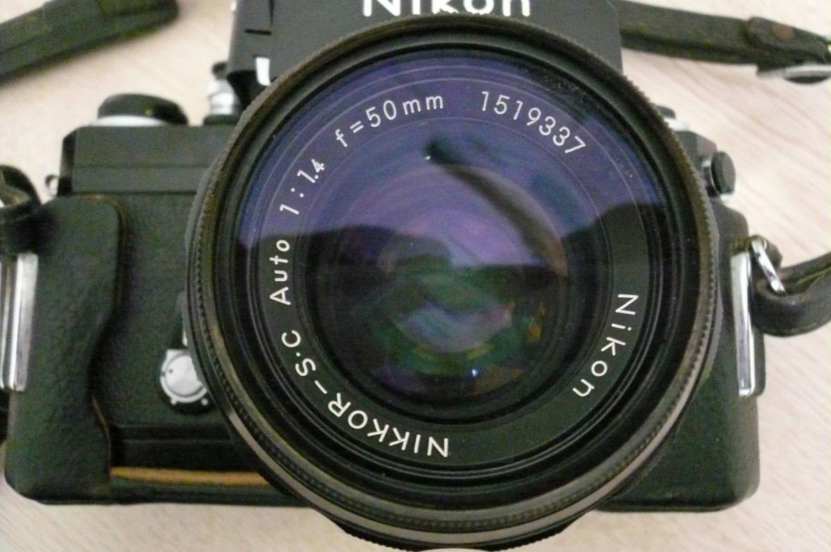 Nikon F ニコン F フォトミックファインダー Ftn カメラ 1:1.4 f=50mm レンズ付き 中古_画像2