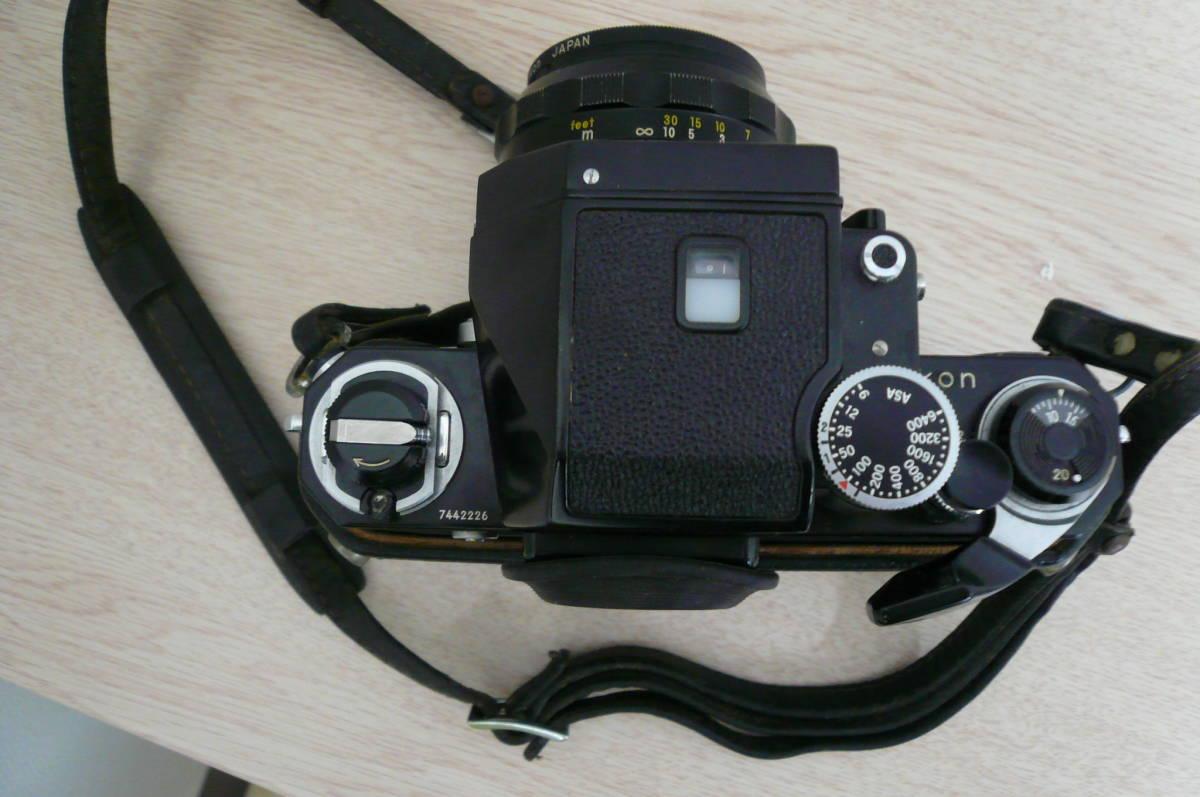 Nikon F ニコン F フォトミックファインダー Ftn カメラ 1:1.4 f=50mm レンズ付き 中古_画像3