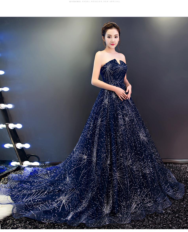 新品 カラードレス ロングドレス 床付く/トレーンあるタイプ オーダーメイド可能 パーティ ステージ Evening dress 1YY
