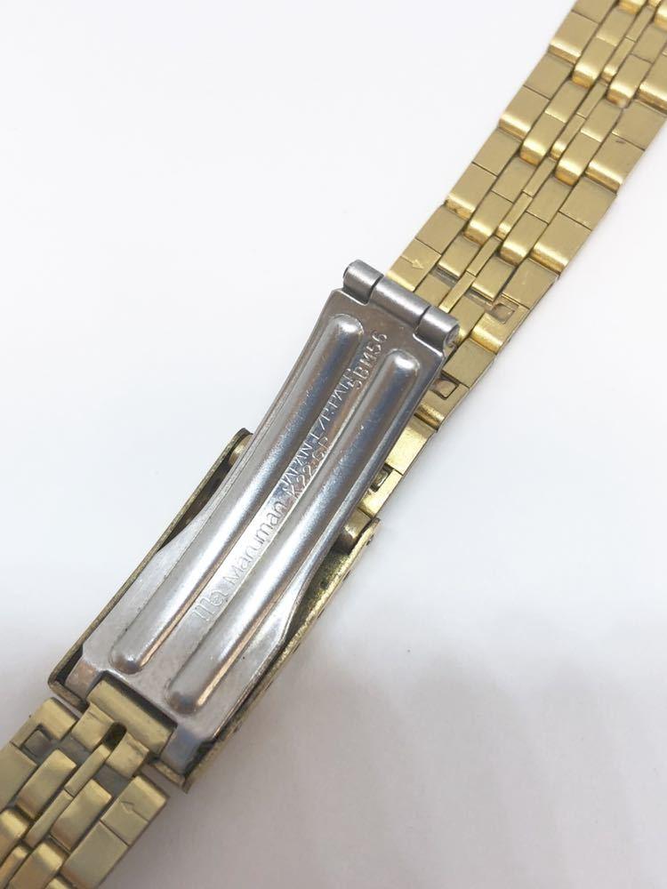 8a7401cfba g4007 未使用品☆腕時計ベルトバンドmaruman マルマンゴールド12mm レディース. 商品數量: :1