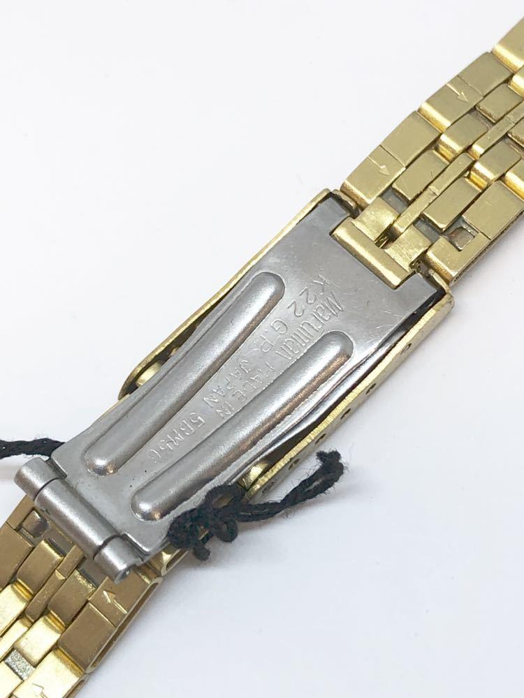 d236886007 g4055 未使用品☆腕時計ベルトバンドmaruman マルマンゴールド17mm レディース. 商品數量: :1