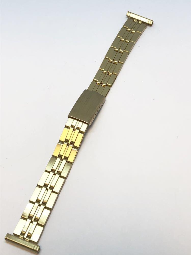 de62119127 代購代標第一品牌- 樂淘letao - s451 未使用品☆腕時計ベルトバンドmaruman マルマンゴールド17mm レディース