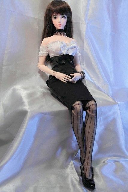 ★数量限定・特注品★フルカスタムドール 球体関節人形 完成品 1/3ボディ BJD SD人形フルセット 少女 ドール フィギュア_画像5