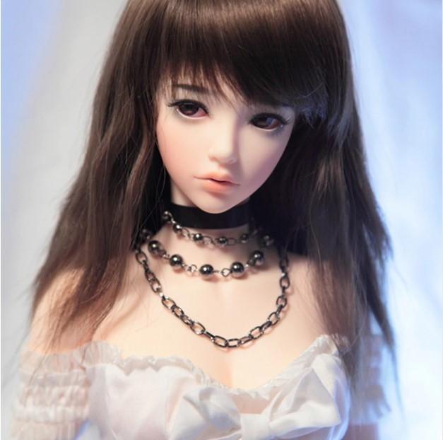 ★数量限定・特注品★フルカスタムドール 球体関節人形 完成品 1/3ボディ BJD SD人形フルセット 少女 ドール フィギュア