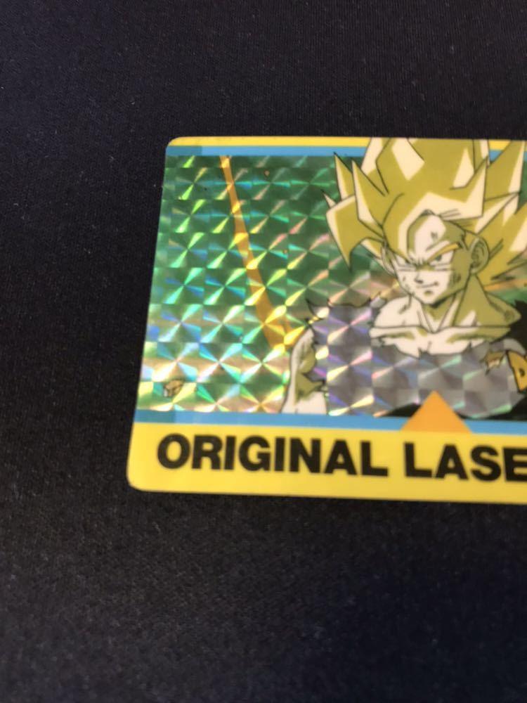 【極美品】当時物 アマダ ドラゴンボール カードダス PPカード オリジナルレザーカード 激レア 希少 当時物_画像3