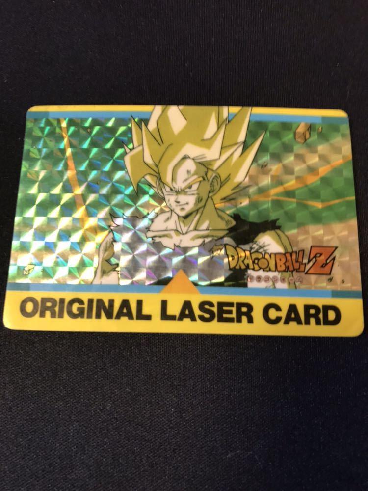 【極美品】当時物 アマダ ドラゴンボール カードダス PPカード オリジナルレザーカード 激レア 希少 当時物_画像1