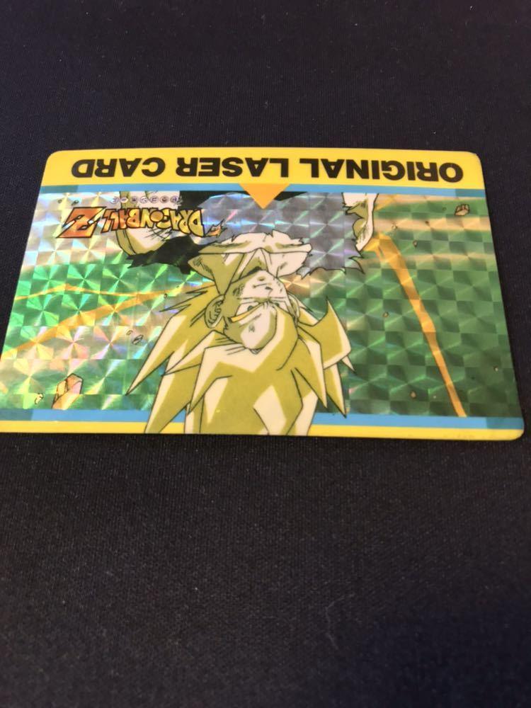 【極美品】当時物 アマダ ドラゴンボール カードダス PPカード オリジナルレザーカード 激レア 希少 当時物_画像4