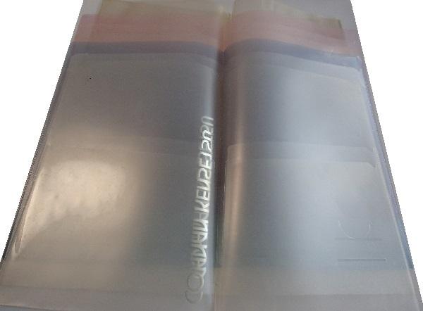 600/クリヤーホルダーファイル A4 2ポケット/クリアファイル/クリアケース 軟質塩ビ A3 山一證券/クリアファイルバッグ A4_クリヤーホルダーファイル A4 2ポケット