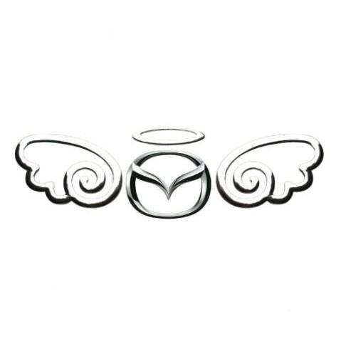 【送料一律84円】 3D 天使 エンブレムステッカー シルバー 立体 エンブレム ステッカー 車 自動車 バイク エンジェル エンゼル シール 銀色_画像1