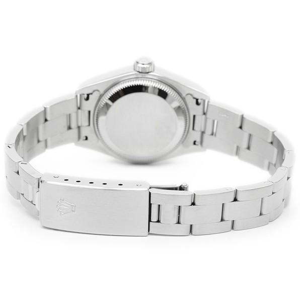 7p1325 税込即決! ROLEX オイスターパーペチュアル デイト 79160 F番 オーバーホール・仕上済 ロレックス ピンク レディース 腕時計_画像3