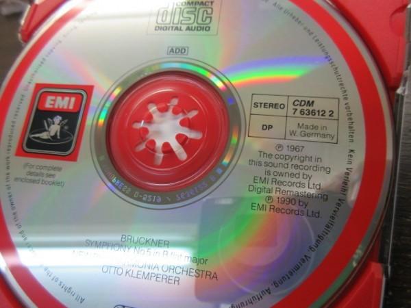 天11//CD///無傷!!///3点セット★EMI ブルックナー:交響曲第5,6,7番/オットー・クレンペラー(Otto Klemperer)_画像4