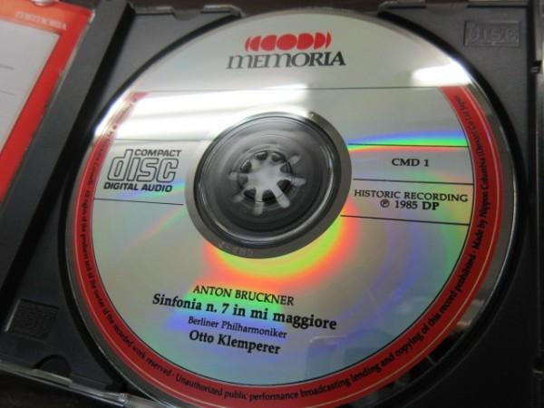 天11//CD///無傷!!★Memoria ブルックナー:交響曲第7番/オットー・クレンペラー(Otto Klemperer),ベルリンフィル_画像3