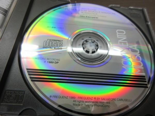 天11//CD///無傷!!★Movimento Musica ブルックナー:交響曲第4番/オットー・クレンペラー(Otto Klemperer)_画像3