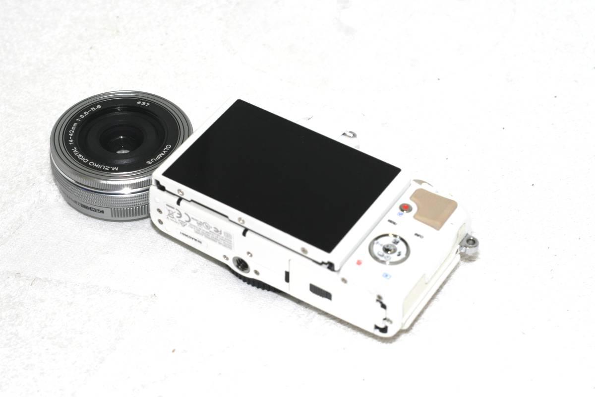 【元箱・取説付】Olympus オリンパス PEN Lite E-PL7 14 42 EZ レンズキット_画像4