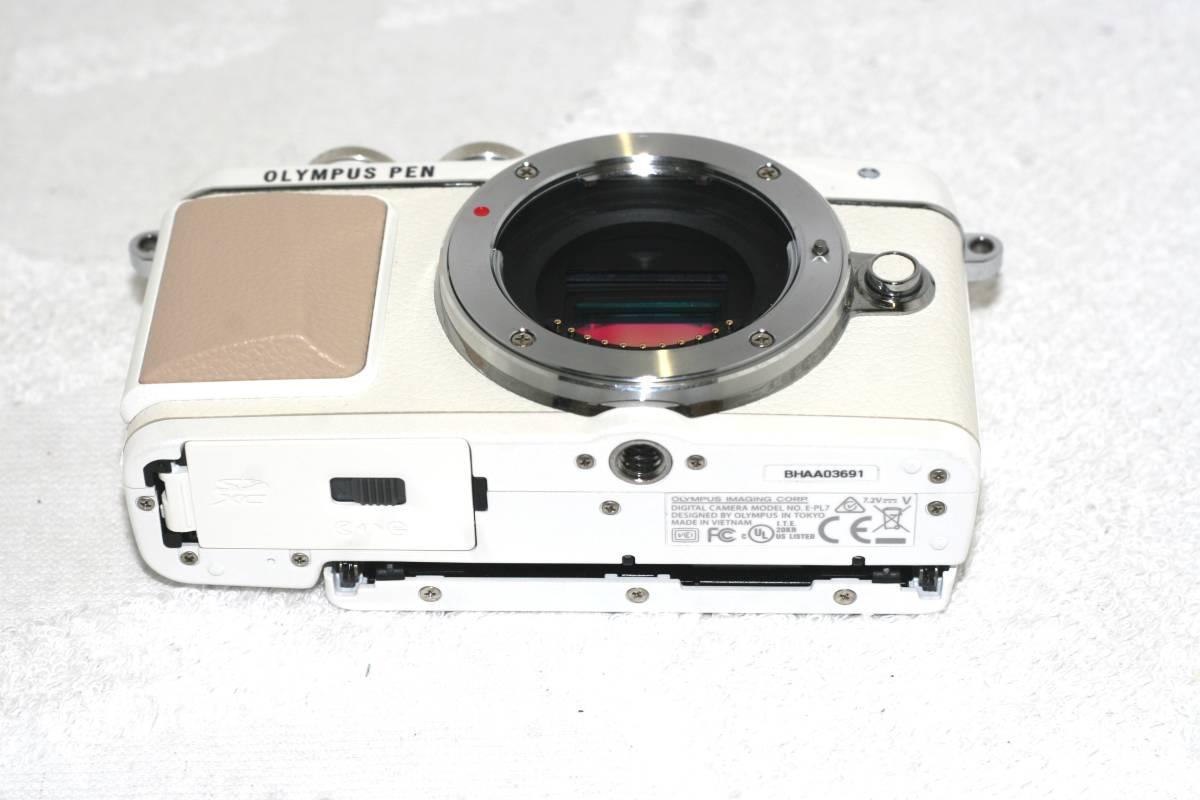 【元箱・取説付】Olympus オリンパス PEN Lite E-PL7 14 42 EZ レンズキット_画像7