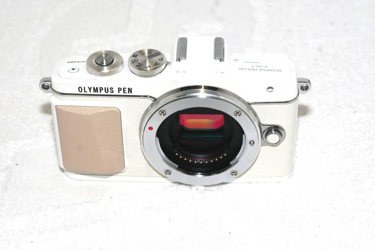 【元箱・取説付】Olympus オリンパス PEN Lite E-PL7 14 42 EZ レンズキット_画像9