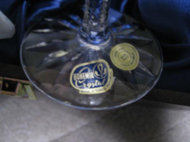 新品 BOHEMIA CRYSTAL JIHLAVA ボヘミア クリスタルグラス ペア シャンパングラス シャンパンフルート 激安 ワイングラス
