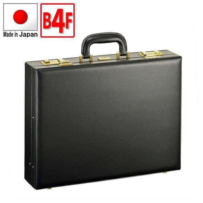 ☆ 最安値 アタッシュケース B4F ビジネスバッグ ブリーフケース フライトケース パイロットケース 日本製 豊岡製鞄 メンズ 42cm 21227 ☆_画像1
