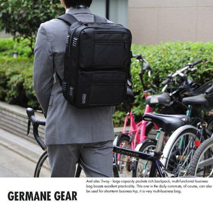 ☆ 最安値 送料無料 GERMANE GEAR 3way2層式ビジネスバッグ 26500 ブリーフケース/リュック/B4/多機能/パソコン/大容量/かばん/バッグ ☆_画像1