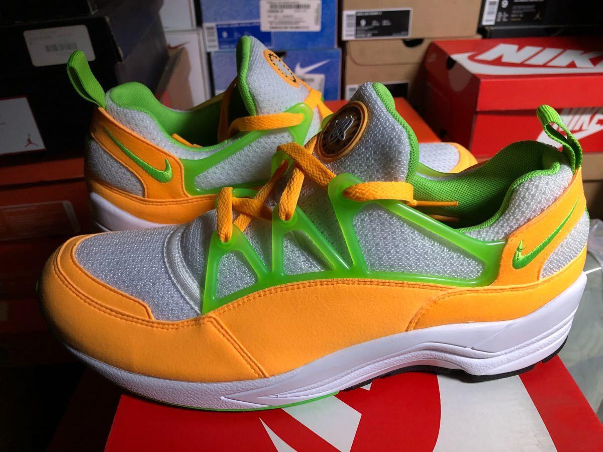 Nike Air Huarache Lite(ハラチ)白オレンジ us9(27cm)新品_画像3