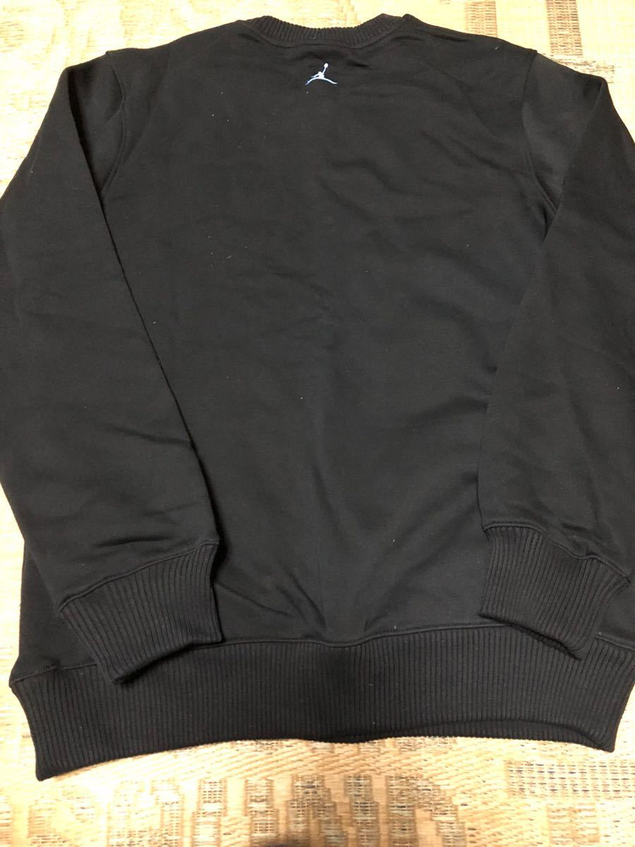 Nike Jordan(ジョーダン)Melo クルースウェット 黒水色 USサイズL 新品_画像2