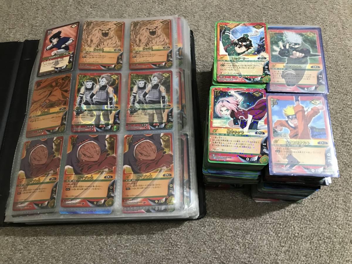 ☆送料無料☆NARUTOナルトカードゲーム【まとめ大量】キラ・字キラ約420枚含む約2000枚セット