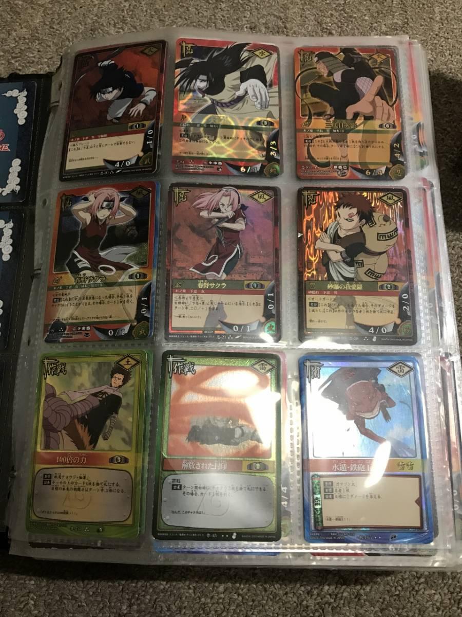 ☆送料無料☆NARUTOナルトカードゲーム【まとめ大量】キラ・字キラ約420枚含む約2000枚セット_画像2