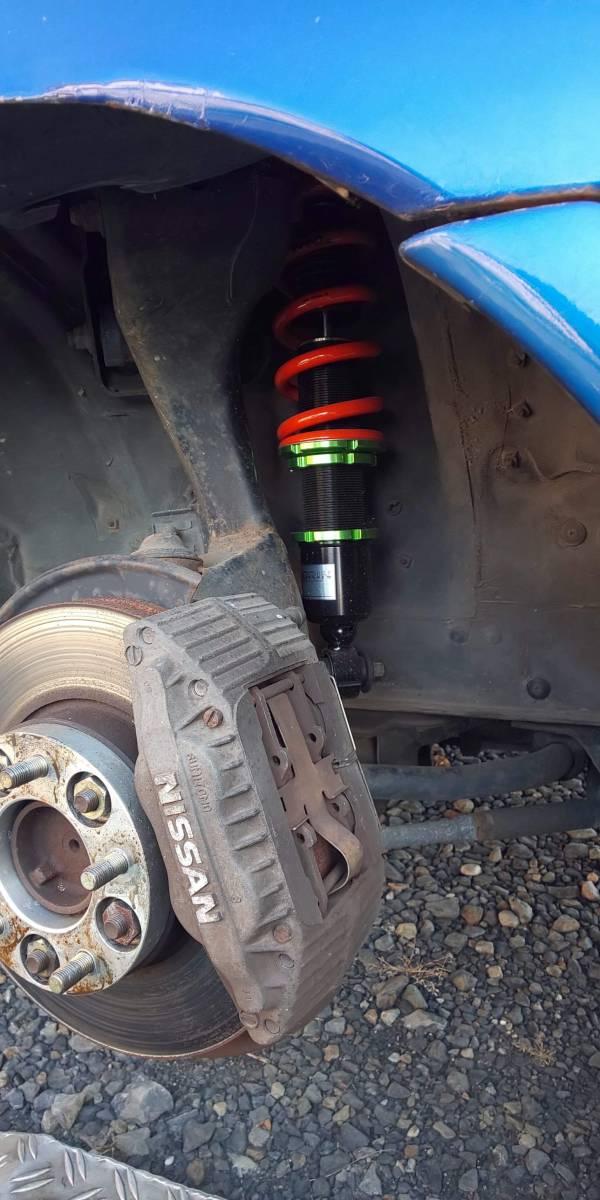 SHORINオリジナル車高調(スペリオリティーダンパー) 日産 R32スカイラインTYPE-M(HCR32)用 F:8k R:6kg ID:Φ65_画像5