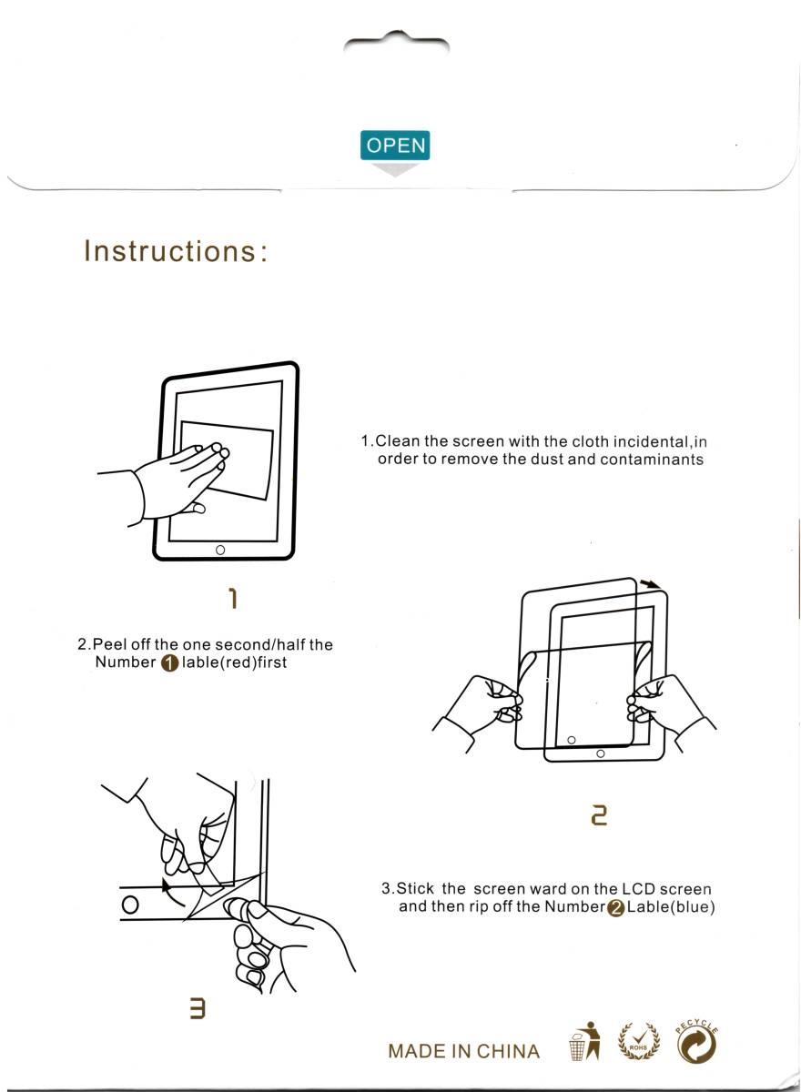 【3枚】ホームボタンのある iPad Pro 9.7 / Air2 / Air/ 9.7インチ 用 フィルム 強化ガラス 液晶保護フィルム 高透過率 気泡ゼロ 硬度9H_画像2