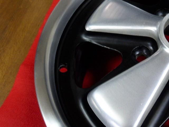 罕見的保時捷正品Fuchs 6 J×15窄保時捷15英寸911 901 73 Carrera RS 912 930 PORSCHE FUCHS 91136102000風冷大眾 編號:l483328726