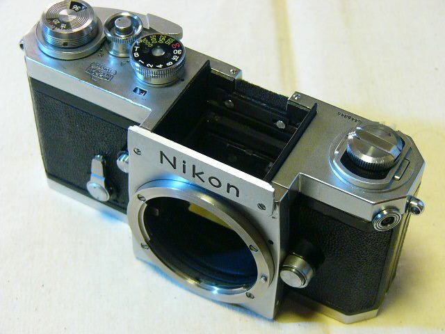 Nikon 日本光学 F 644番台 (動作・良品) メインボディーのみ/ジャンク扱い_画像2