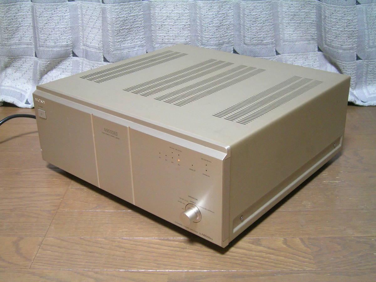 ★ジャンク★ソニー SONY TA-N9000ES 5チャンネルパワーアンプ_画像5