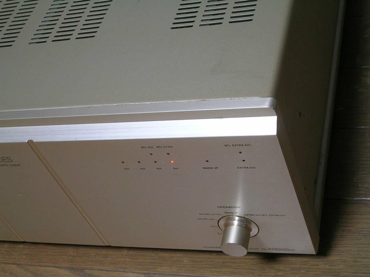 ★ジャンク★ソニー SONY TA-N9000ES 5チャンネルパワーアンプ_画像3