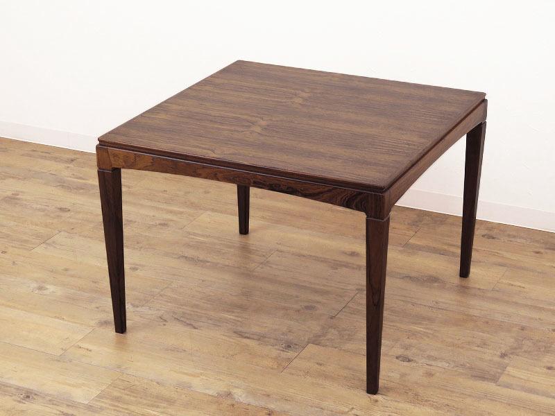 1960年代の北欧ビンテージ家具 デンマーク製 スクエアーのローテーブル HR-0202-2_画像1