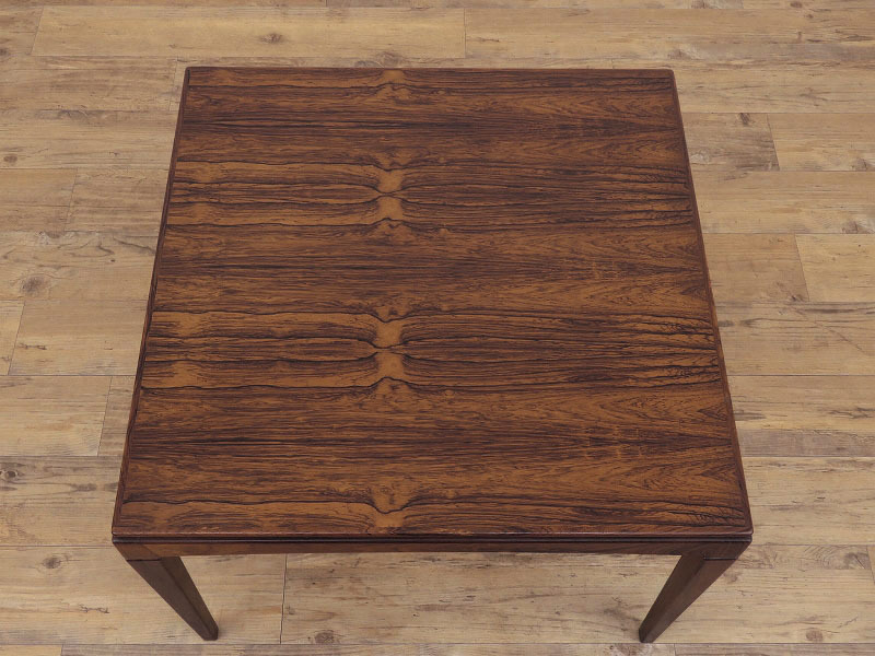 1960年代の北欧ビンテージ家具 デンマーク製 スクエアーのローテーブル HR-0202-2_画像3
