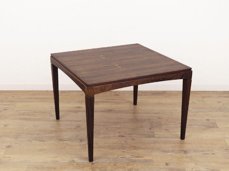 1960年代の北欧ビンテージ家具 デンマーク製 スクエアーのローテーブル HR-0202-2_画像9