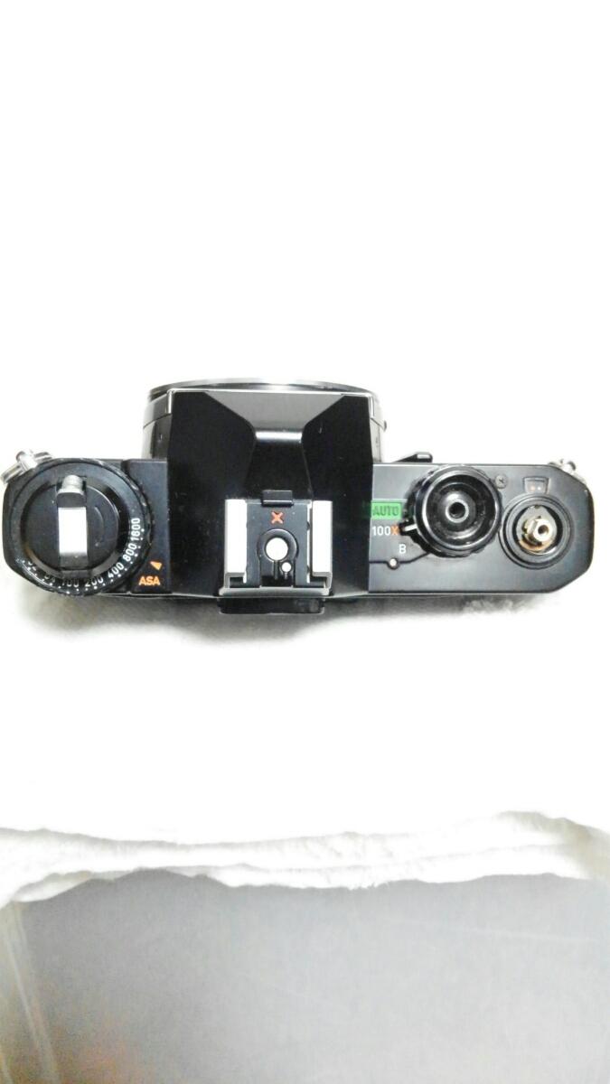 PENTAX ASAHI MV 1 ペンタックス ブラックボディ アサヒ ボディのみ フィルムカメラ 一眼レフ ※長期保管 動作未確認 ジャンク品※_画像5