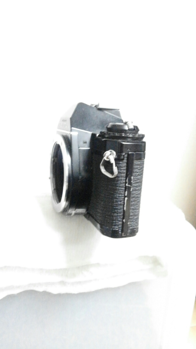 PENTAX ASAHI MV 1 ペンタックス ブラックボディ アサヒ ボディのみ フィルムカメラ 一眼レフ ※長期保管 動作未確認 ジャンク品※_画像2