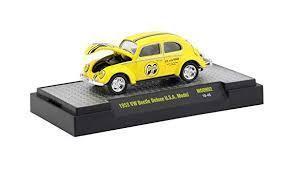 M2 MACHINES 1953 VW Beetle Deluxe U.S.A. Model Mooneyes★ワーゲンビートル ムーンアイズ★7200台限定 1:64_画像6