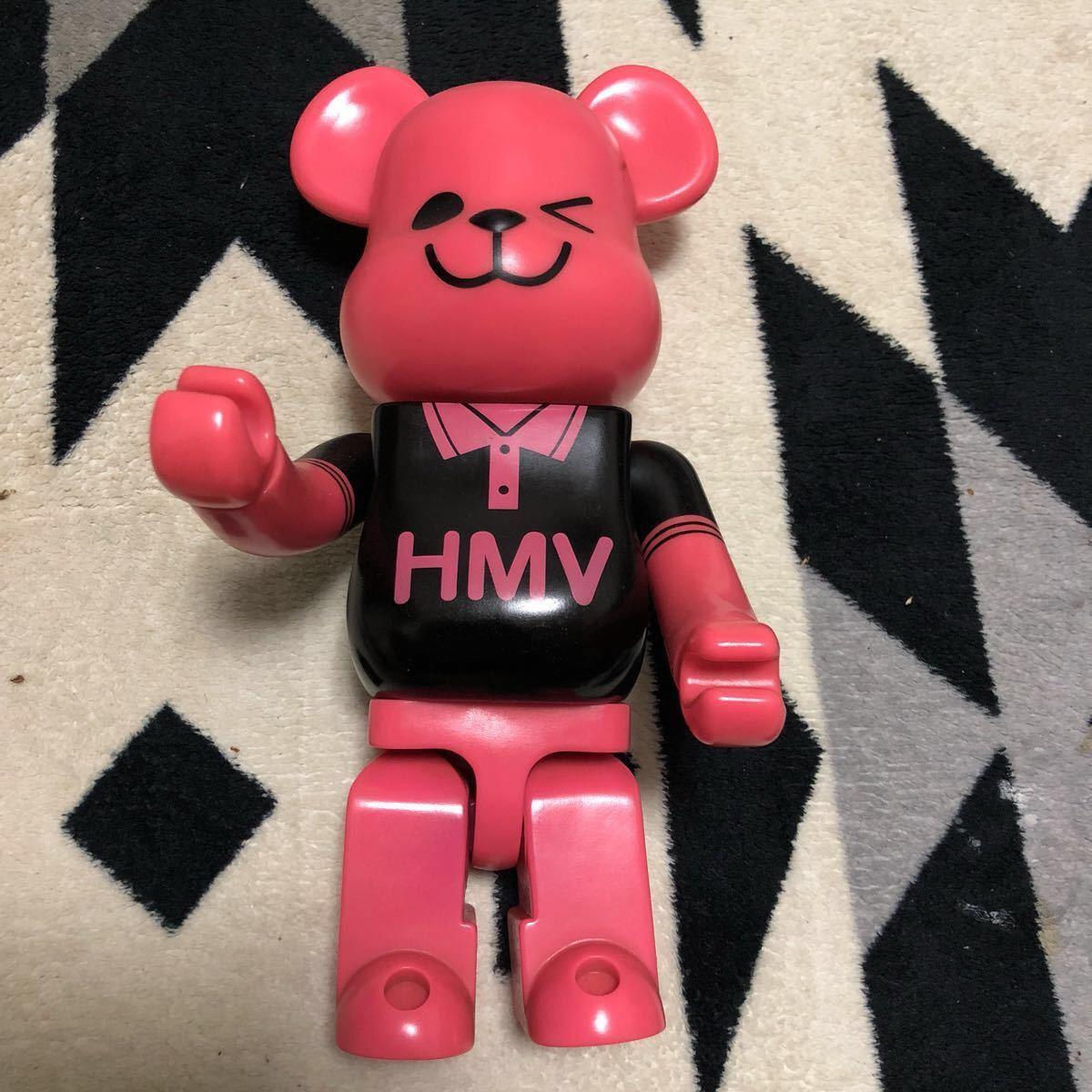 ベアブリック HMV ピンク クマ 限定 コレクション フィギア_画像3