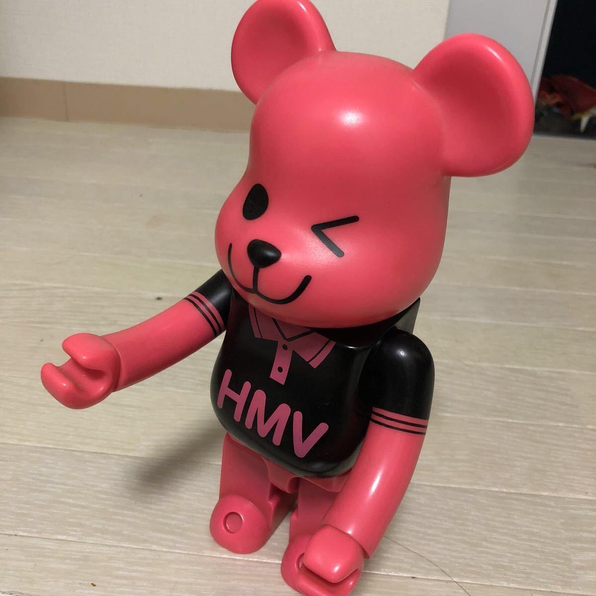 ベアブリック HMV ピンク クマ 限定 コレクション フィギア