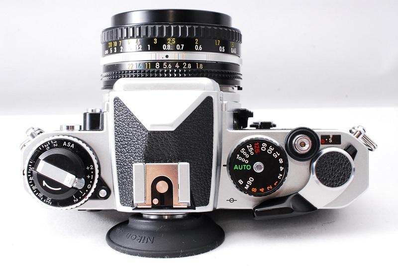 ★超希少美品・ワンオーナー品★Nikon ニコン FE NIKKOR 50mm F1.8 レンズセット 動作確認済み ニコンコレクター必見です!_画像3