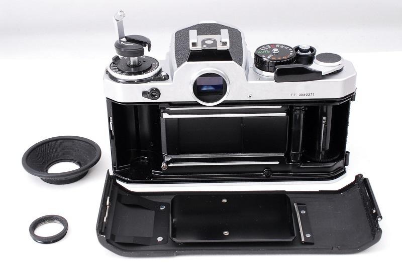 ★超希少美品・ワンオーナー品★Nikon ニコン FE NIKKOR 50mm F1.8 レンズセット 動作確認済み ニコンコレクター必見です!_画像8